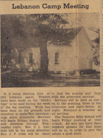 1945 Choctaw Plaindealer article provided by Doyle Nowell